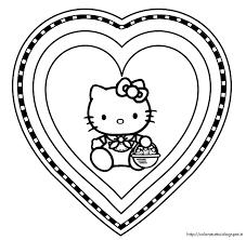 Hello Kitty Da Colorare Per Bambini Galleria Di Immagini