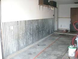 corrugated metal garage wall how to install corrugated metal on garage walls corrugated metal wall panels corrugated metal garage wall how to install