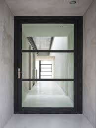 enchanting modern glass exterior doors with best 25 glass front door ideas on farmhouse front