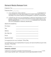 Free Medical Release Form Photo Template Basic – Gocollab