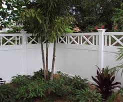 Fine Vinyl Privacy Fence Ideas Pvc The Throughout Design