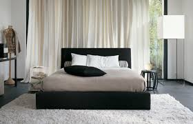 Modern Bedroom Rugs Bedroom Bold Guest Bedroom With Wicker Rug Wood Bed Frame And