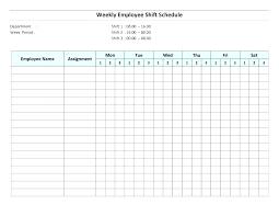 Work Schedule Spreadsheet Template Printable Schedule Templates Template Blank Weekly Calendar