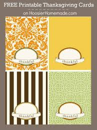 Free Thanksgiving Cards Hoosier Homemade