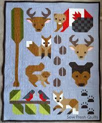 Forest Friends pattern release | Sew Fresh Quilts | Bloglovin' & Forest Friends pattern release Adamdwight.com