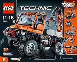 Amazon Com Lego Technic Unimog U400 8110 Toys Games