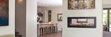 napoleon clearion see through electric fireplace intended for plan 18
