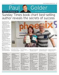 Sunday Times Book Chart Best Selling Author Reveals The