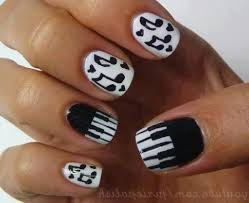 42+ Latest Music Nail Art Design Ideas