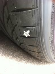 pictures of nail repair tire