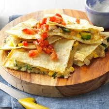 inspired by grilled quesadilla with grilled adobo en