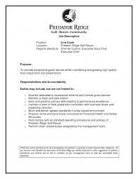 Sushi Chef Job Description Template Line Cook Resume Sample