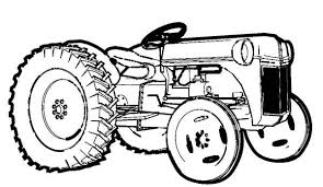 Small Picture Farm Tractor Coloring Page Download Print Online Coloring