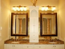 Bathroom Fixture Red Arch Lighting Rustic Wood Art Deco Custom Bathroom  Mirrors Full Wall Frameless Wall Mounted Horizontal Extra Large Faucet Oil  Rubbed ...