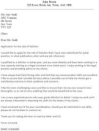 solicitor cover letter example cover letter for my cv