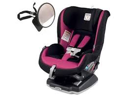 peg perego primo viaggio convertible car seat with back seat mirror fleur