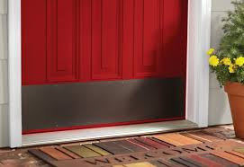 learn instructions for removing and replacing an interior and exterior door threshold