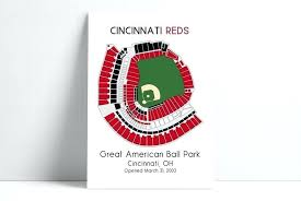 Cincinnati Reds Seating Chart Reds Seating Pratherwellsfargotcpa Co