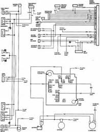 headlight and tail light wiring schematic diagram typical 1973 85 chevy truck wiring diagram chevrolet truck v8 1981 1987 electrical wiring diagram