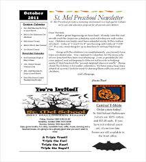 Preschool Newsletter Template Cool Newsletter For Preschool Parents Template Studiojpilates
