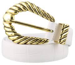 Alberta Ferretti Size Chart Alberta Ferretti Alberta Ferretti Leather Belt White