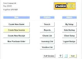 Free Invoicing Software Download Free Invoice Maker Download Invoice Template For Builders