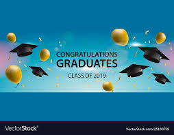 Congratulations For Graduation Congratulations Graduates 2019 Caps Balloons And