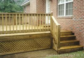 wood deck railing ideas in deck assorted diy
