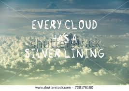 Cloud Quotes New Life Motivational Quotes Every Cloud Has Stock Photo Edit Now