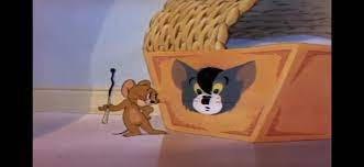 When you realise that tom and jerry made a joke about hitler: HolUp