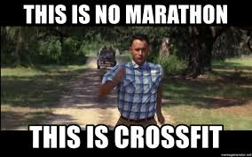 Image result for crossfit meme running