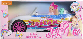 Jojo siwa is an american singer, dancer and youtuber who became famous through her participation in two seasons of the reality show dance moms. Amazon Com Jojo Siwa Dream Car Multicolor Toys Games