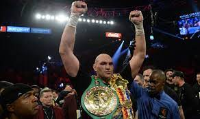 Boxing: Tyson Fury growing into the ...