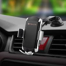 Wireless <b>Car</b> Charger Mount with QC 3.0 <b>Car</b> Adapter,<b>10W Qi Fast</b> ...