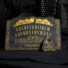 Ouija Board Coffee Table Mini Lunar Filigree Spirit Board On Storenvy