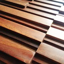 image of part wood wall panels