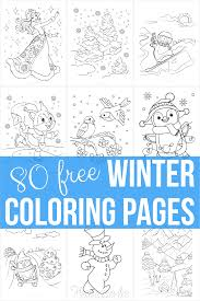 Educational fun kids coloring pages and preschool skills worksheets. 80 Best Winter Coloring Pages Free Printable Downloads