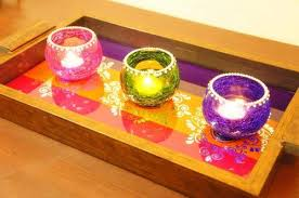 Decorative Glass Trays Wedding Gifts Candle Votives Holder Manufacturer From Navi Mumbai 74