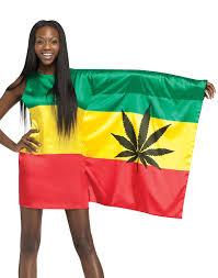 rasta girl 420 weed flag womens y bob marley holiday party costume s l com
