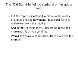common application essay topic pre writing strategies ppt 6 the ldquo