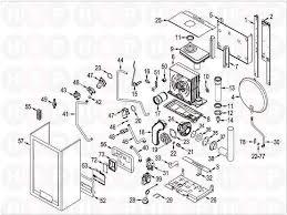 Sime format dgt 20 he system appliance diagram boiler assembly