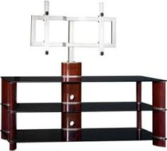 Bush VS11550A03 SegmentsSwivel Plasma TV Stand With Mounting Bracket  Mounting bracket allows TV when mounted to swivel 10 degrees to the right  or left