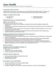 High School Student Resume Objective Statement Template S