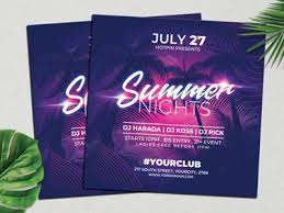 Summer Party Flyer Template By Hotpin On Dribbble