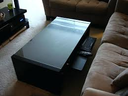 ikea coffee table with storage coffee table home theater coffee table narrow side table glass top