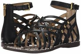 Sam Edelman Coat Size Chart Details About Sam Edelman Gardener Gladiator Sandal Sizes 5 9 5 Black Leather E2533l3001