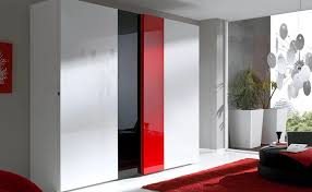 red high gloss furniture. High Gloss Red White Black Sliding Modern Closet Doors Furniture