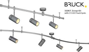 bruck lighting track systems. Flexible Track Lighting Kits Lovely Bruck Zonyx Line Voltage Monorail System Brand Of 40 Systems -