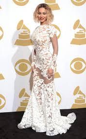 Beyonce Grammy Dress Designer Designer Dishes Exclusive Details On Beys Grammys Dress E