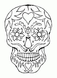 Skull And Bones Coloring Pages Cross Bone Free Home 11761600